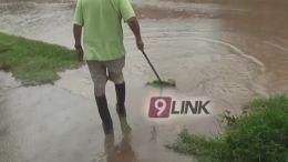 Vecinos afectados por las lluvias y el olvido municipal