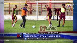 CHACO - Sarmiento visita a San Martin