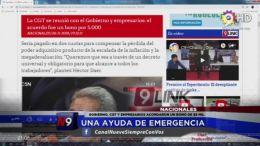 NACIONALES- Una Ayuda De Emergencia