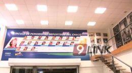 CHACO - Resistencia: El Vagabundo estuvo con los periodistas deportivos en su día