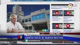 CHACO - Garcia Solá el nuevo rector