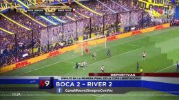 Boca 2 - River 2