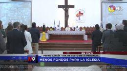 CHACO - Menos fondos para la Iglesia