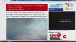 CORRIENTES - Alerta Meteorológico