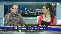 CORRIENTES -  ALERTA CHIKUNGUYA