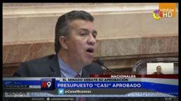 NACIONALES - PRESUPUESTO CASI APROBADO