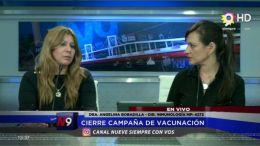 CORRIENTES - Cierre campaña de vacunación