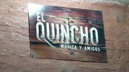 """estuvo en la inauguración de """"El Quincho"""""""