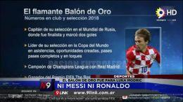DEPORTES - Ni Messi ni Ronaldo