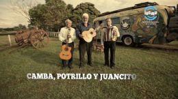Cambá,Potrillo y Juancito en Nación Chamamé | 04.12