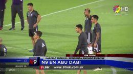 INTERNACIONALES - N9 en Abu Dabi