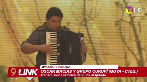 Oscar Macias y Grupo Curupí 11.01