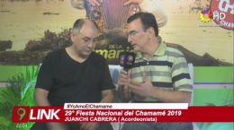 Entrevista Juanchi Cabrera 16.01.2019