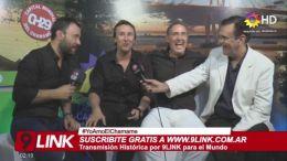 ENTREVISTA - Los Alonsitos y Lucas Sugo con 9Link