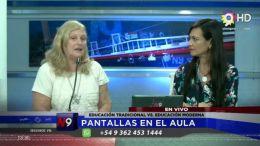 CORRIENTES - PANTALLAS EN EL AULA.