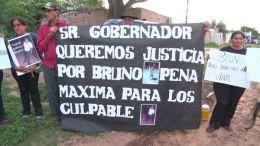 CHACO - Piden justicia por Bruno