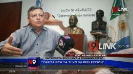 ENTREVISTA CON DECLARACIONES EXCLUSIVAS A CANAL 9 | 27.05