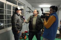 RESISTENCIA: EL VAGABUNDO ESTUVO CON EL CAMPEON SUDAMERICANO DE LA MMA DE KICK BOXING: ARIEL LÓPEZ