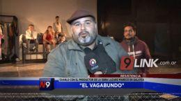 EL VAGABUNDO - CON EL DIRECTOR DE LA OBRA: EJERCICIOS SOBRE JULIO CESAR.