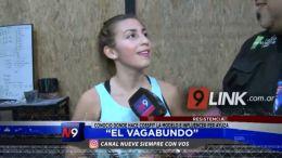 """Resistencia: """"El Vagabundo"""" conoció dónde hace crossfit la modelo e influencer Fernanada Ayuza"""