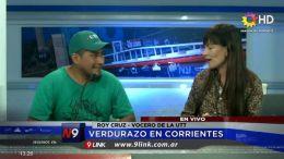 NUMEROSAS FAMILIAS ESPERAN RECIBIR VERDURAS GRATIS | CORRIENTES | 31.07