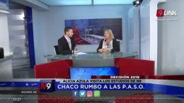 ALICIA AZULA VISITA LOS ESTUDIOS DE N9  | DECISIÓN 2019