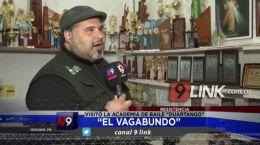 """Resistencia: """"El Vagabundo"""" visitó la academia de baile """"Duartango"""""""