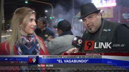 """Resistencia: """"El Vagabundo"""" es sorprendido por"""