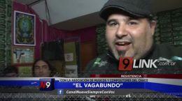 """Resistencia: """"El Vagabundo"""" estuvo con integrantes de la Asociación de Músicos del Chaco"""