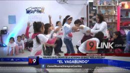 """Resistencia: """"El Vagabundo"""" irrumpió en el ensayo de la Academia de Baile """"Noelia Roldán"""""""