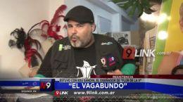 """Resistencia: """"El Vagabundo"""" Estuvo con Edu Sanova, el diseñador de """"Flor De La V"""""""