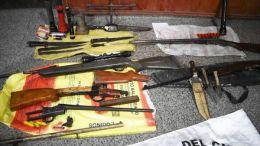 ATRAPARON A TRES CAZADORES E INCAUTARON SUS ARMAS | CHACO | 04.09