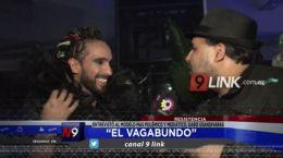 """Resistencia """"El Vagabundo"""" entrevistó al modelo más polémico y mediático, Gabo Usandivaras"""