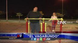 """Resistencia: """"El Vagabundo"""" hizo ejercicios con """"La Vagabunda""""?"""