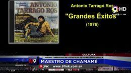 ANTONIO TARRAGO ROS EN LOS FESTEJOS DE LOS 53 AÑOS DE CANAL 9 | CULTURA | 11.09