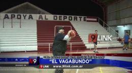 """Resistencia """"El Vagabundo"""" prueba entrenar básquet con el equipo del Club """"Don Bosco"""""""