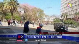 MANIFESTANTES SE ENFRENTARON CON LA POLICÍA | CHACO | 19.09