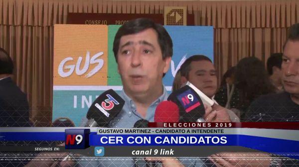 FLASH N9 | GUSTAVO LANZÓ SU LISTA DE CANDIDATOS  | 22.09