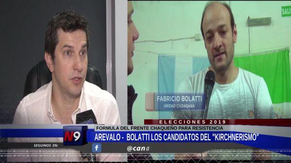 "FLASH N9 | ARÉVALO Y BOLATTI LOS CANDIDATOS ""K"" | 21.09"