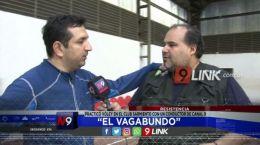 """Resistencia """"El Vagabundo"""" practicó vóley en el club sarmiento con un conductor de Canal 9"""