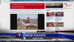 PESA 35 KILOS, LO PESCARON Y LO DEVOLVIERON AL RÍO | CORRIENTES | 01.10