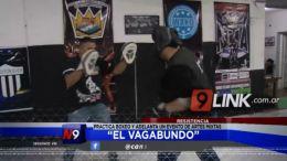 """Resistencia: """"El Vagabundo"""" practica boxeo y adelanta un evento de artes mixtas"""