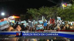 POLITICA | ANALÍA RACH EN CAMPAÑA   | 08.10