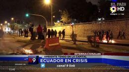 AMBIENTE TENSO EN LA CAPITAL | INTERNACIONAL| 09.10