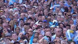 12LA MARCHA NACIONAL, EPICENTRO EN EL OBELISCO |NACIONALES| 21.10