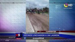 LO IDENTIFICARON COMO QUIEN COMETÍA ILÍCITOS EN EL BARRIO | CORRIENTES | 22.10