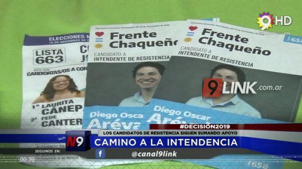 POLÍTICA   CAMINO A LA INTENDENCIA     05.11