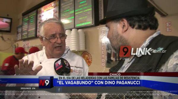 """""""El Vagabundo"""" con Dino Paganucci en el Día de las Heladerías con las familias de Resistencia"""