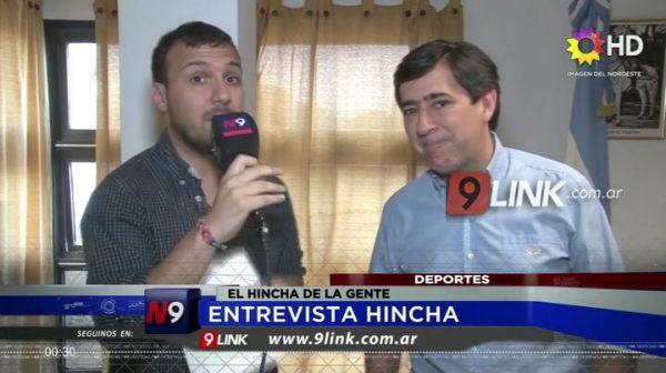 DEPORTES   EL HINCHA DE LA GENTE   ENTREVISTA
