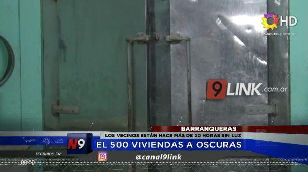 BARRANQUERAS   EL 500 VIVIENDAS A OSCURAS   20.11
